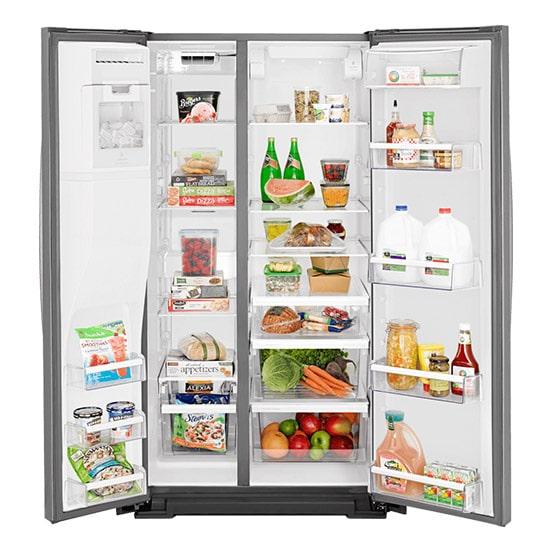refrigerador whirlpool side by side 21 pies cubicos cocina